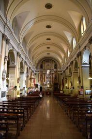 Mendoza Basilica San Francisco Interior