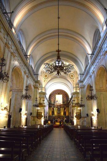 Montevideo Plaza de la Constitución Montevideo Metropolitan Cathedral Interior