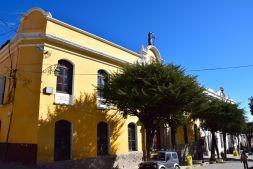 Potosi Center Yellow Building
