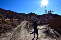 Potosi Mine Tour Outside Mine Walking