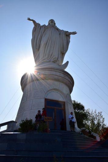 Santiago Cerro San Cristóbal Virgin Mary