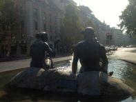 Santiago City Statue