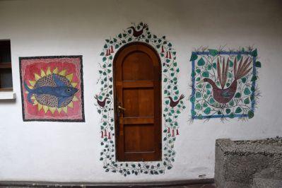 Santiago La Chascona Door