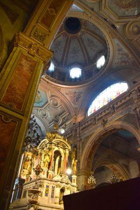 Santiago Plaza de Armas Catedral Metropolitana de Santiago Dome
