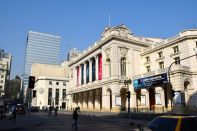 Santiago Street Municipal Theatre of Santiago