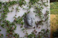 The Aubrey Santiago Buddah Head Statue