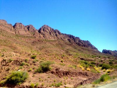 Uyuni Bus to Potosi Mountains