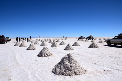 Uyuni Salt Flats Salt Mounds