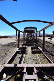 Uyuni Train Cemetery Frame