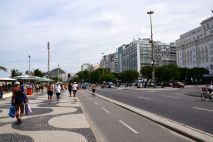 Copacabana Boardwalk Road