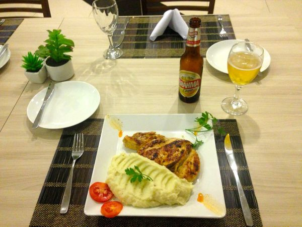 HG Tower Hotel Dinner