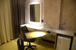 HG Tower Hotel Room Desk