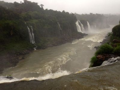 Iguacu Falls River View