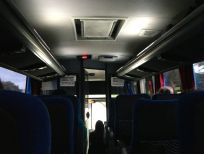 Itaipu Dam Bus Interior