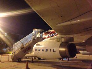 Rio Airport Plane