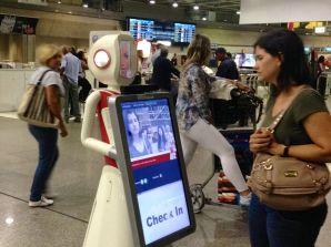 Rio Airport Robot