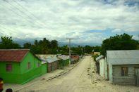 Dominican Republic scene village