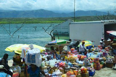 Haiti Dominican Republic Border Food market