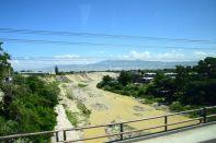 Haiti Road Scene River