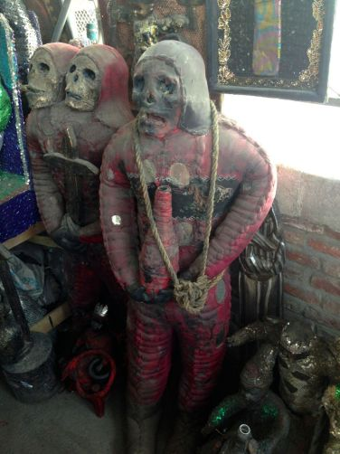 Iron Market Port-au-Prince Shrunken Head Scuptures