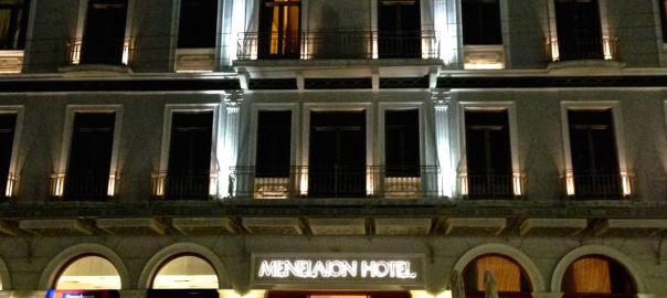 Menelaion Hotel Header