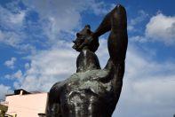 Port-au-Prince Historic Center Monument Close