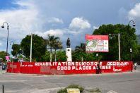 Port-au-Prince Historic Center statue