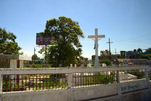 Port-au-Prince Street Scene Cemetary