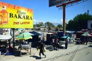 Port-au-Prince Street Scene Sign