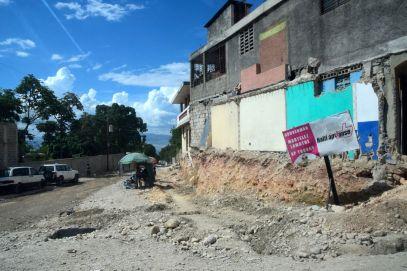 Port-au-Prince destroyed street