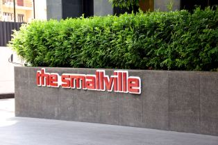 The Smallville Hotel Sign