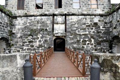 Havana Fortress San Salvador de la Punta Bridge