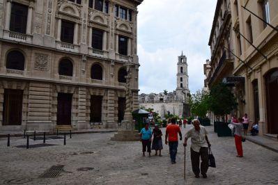 Havana Old Town Walkway