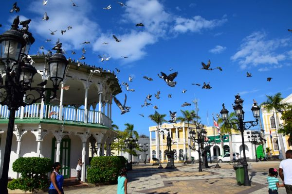 Puerto Plata Square Pigeons