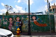 Santiago de los Caballeros Graffiti Wall Art