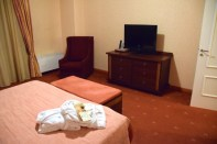 Arena di Serdica Room Bed TV