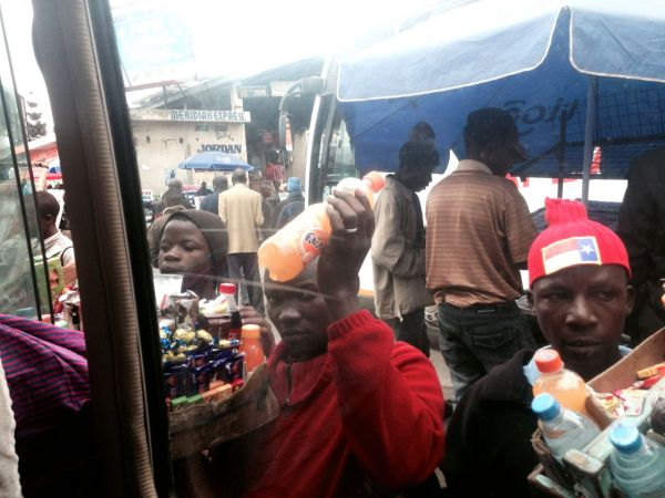 Arusha - Bus Station Hawkers