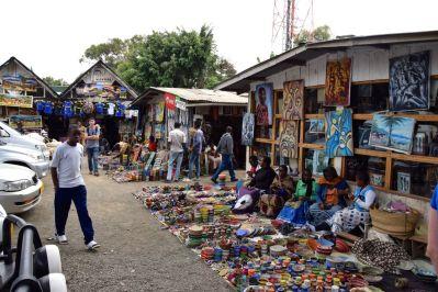 Arusha Maasai Market Entrance