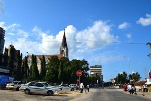 Dar es Salaam St. Joseph's Cathedral Trees