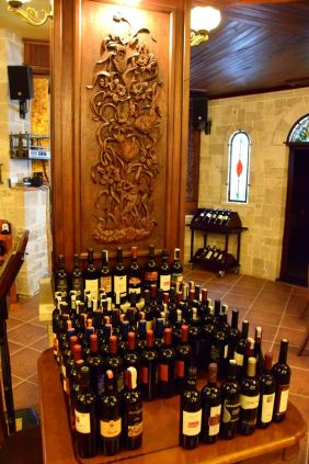 Dinasty Hotel Tirana Restaurant Wine