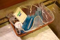 Dinasty Hotel Tirana Room Toiletries