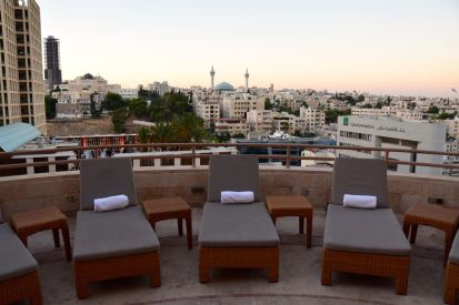 Grand Hyatt Amman Pool Seating