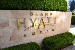Grand Hyatt Amman Sign