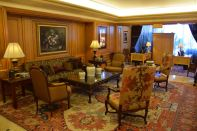 InterContinental Le Vendome Lobby Seating