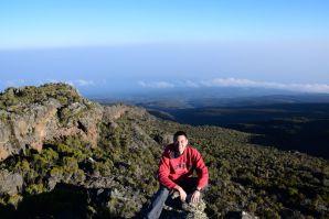 Kilimanjaro Horombo Hut View David