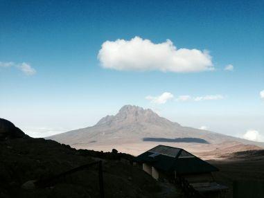 Kilimanjaro Kibo Hut View