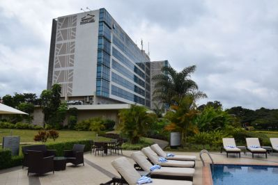 Mount Meru Hotel Pool View