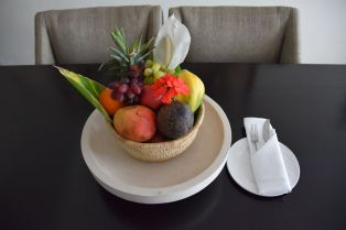 Mount Meru Hotel Room Fruit