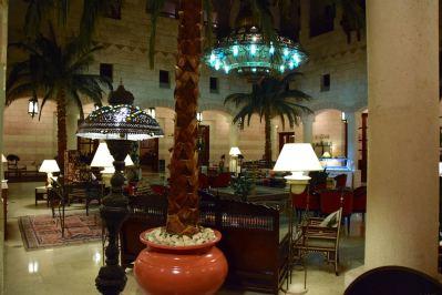 Movenpick Petra Lobby Courtyard