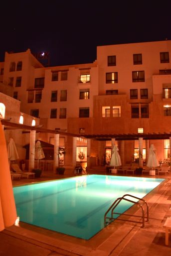 Movenpick Petra Pool and Building